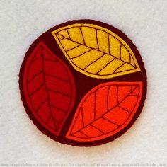 Эnergetic-A / фетр / подставка под горячее / http://www.mentalchrome.com/galleries/energetic-a/