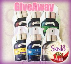 Skin18 Many International Giveaways! – skin18com