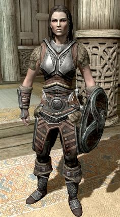 """I've put down the game for a while now, but when I see Skyrim posts on Reddit, I'm reminded of my version of Lyds... """"Lydia is a Nordhousecarl obtained upon completion of the quest Dragon Rising.(...) As Housecarl, she is sworn to protect the Dragonborn with her life, and to carry their burdens. Lydia can die if she does not get the opportunity to heal herself when knocked down. This can happen if she is hit by enemies or..."""" All the effing time. OMG she is so squishy."""