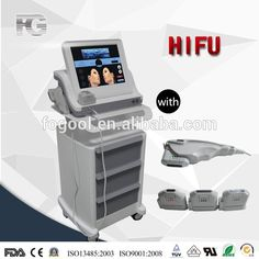 2016 Medical Portable Hifu Facial Lifting / High Intensity Focused Untrasound Portable Hifu