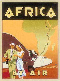Africa en avión