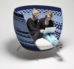 Created by Swedish designer Ola Gillgren, the Big Basket Chair is a beautiful work of art.