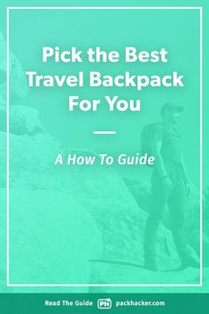 The best travel backpack is unique for each person. We break down how to choose your perfect one bag carry-on into 5 easy sections, plus, we include packs like… Best Travel Backpack, Travel Bags, Osprey Farpoint, One Bag, Guided Reading, Factors, Minimalist, Advice, Backpacks