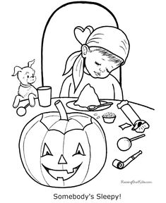 Kid Coloring sheets for Halloween - free, printable Halloween coloring sheets are fun for kids! Scary bats, cats and kids Halloween coloring sheets, pages and pictures. Halloween Food Crafts, Halloween Activities, Halloween Kids, Vintage Halloween, Fall Coloring Pages, Adult Coloring Pages, Coloring Pages For Kids, Kids Coloring, Halloween Coloring Pictures