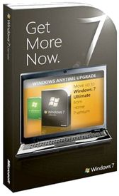 Microsoft Windows Anytime Upgrade Win 7 Home Premium to Win 7 Ultimate