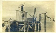 Diving at Globe Wharf