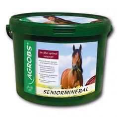 Agrobs SENIORMINERAL 3kg Coffee Cans, Canning, Minerals, Health, Conservation