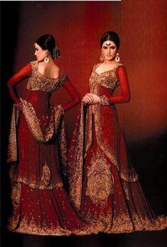 Elegant Bridal Lehenga, my top choice!! Can't wait until it's mine <3