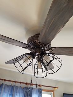 Update A Ceiling Fan Using Spray Paint Share Your Craft