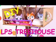 DIY LPS / Doll Treehouse - YouTube