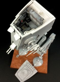 The Modelling News: Review: Bandai 1/48th Star Wars AT-ST - is this the crossover kit we have been waiting for?