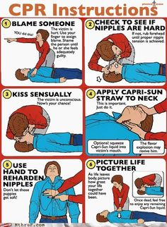If you've ever taken CPR classes, this is How it's really done.
