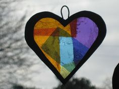 Me and my shadow: Sweetie Stained Glass Sun Catchers