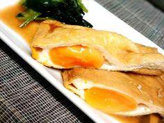 冷凍卵で*巾着卵の画像