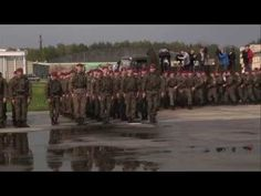 Infantry Brigade Combat Team (Airborne) Soldiers welcome ceremony in Poland. Mint Salad, Us Military, Soldiers, Poland, Army, Youtube, Gi Joe, Military, Youtubers