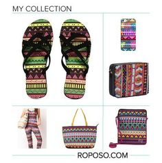 """""""Vibrant Aztec"""" Awesome list on #gadgets #clutches by @richa_varun #fashion"""