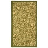 Found it at Wayfair - Courtyard Natural/Olive Outdoor Rug