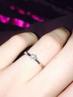 Beautiful and simple engagement ring