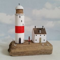 Keepers cottage #driftwood #shabbydaisies #litthouse #beach #harbour…