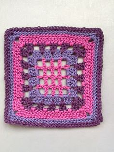 365 Granny Squares Project: Rows and rounds..... ~ Color Inspiration
