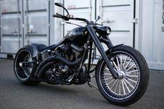 Harley Davidson 07 FXSTB 300 Fat Tire Custom [GILDA]