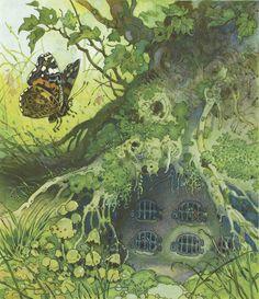 Erich Heinemann - Fritz Baumgarten, illustrator