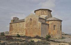 Chalamera, Huesca - Iglesia románica de Santa María Romanesque Art, Romanesque Architecture, Sacred Architecture, Church Architecture, Dark Places, Places To Go, Aragon, Kirchen, Byzantine