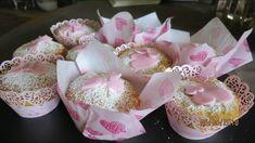 Rhabarber Muffins - Rezept von Kuechenschelle Cake, Rhubarb Muffins, Finger Food, Essen, Recipies, Kuchen, Torte, Cookies, Cheeseburger Paradise Pie