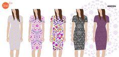 466dsn - design de imprimeuri textile Store, Fashion, Moda, Fashion Styles, Larger, Fashion Illustrations, Shop