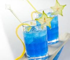 Recept Modrá záře od Vorwerk vývoj receptů - Recept z kategorie Nápoje Kitchen Machine, Tequila, Thermomix