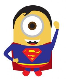 minion superheroes @Sandra Pendle Pendle Perez  so you can make a banner out of these