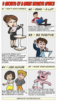 5 Secrets Of A Great Keynote Speech