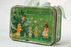 Antique Ukrainian Tin / Rare Adorable Rustic от MonstersOverTheSea