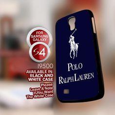 Polo Ralph Lauren - Samsung Galaxy S4 Black case