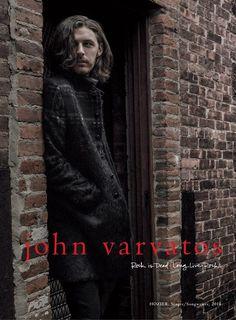 John Varvatos Fall Winter 2016.17 Campaign Starring Musician Hozier