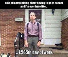 No summer vacations, at least paid time off