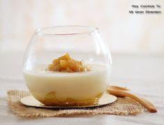 Hoy Cocinas Tú: Natillas con manzana