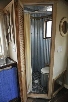 tiny house bathroom composting toilet - Google Search