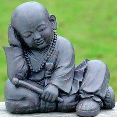 Buddha Skulptur Figur Statue-Garten Terrasse-feng shui artikel