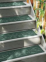 Indoor/Outdoor Stair Treads - Nonslip Stair Pads | Solutions