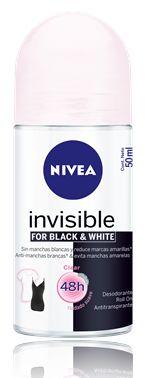 Pela 1ª vez, a NIVEA traz para o mercado um desodorante que, além de evitar as manchas brancas nas roupas, também evita o aparecimento da...