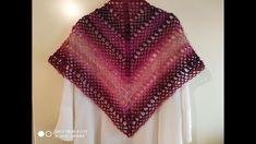 ΕΎΚΟΛΟ ΤΡΙΓΩΝΟ ΣΑΛΙ ΜΕ ΒΕΛΟΝΑΚΙ easy triangle shawl crochet Poncho Shawl, Crochet Top, Youtube, Tops, Women, Fashion, Moda, Fashion Styles, Fashion Illustrations