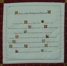 Underground Railroad Quilts | Treadle Quilts: Underground Railroad Miniature Quilt