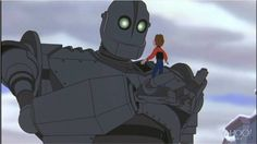 Trailer de la remasterizada 'The Iron Giant' - Kúbico