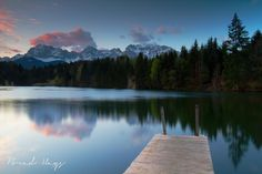 Bavarian alpine lakes for a swim in the summer months. Photo by Brad Hays. #edelweissresort