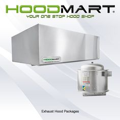Commercial kitchen exhaust hoods are the most important, but often the most underappreciated, part of your restaurant and the ventilation system that connects to it. HoodMart stainless steel hoods are equipped with high-powered fans or blowers that remove odors and improve the indoor air quality inside your kitchen. This is important because humidity can cause mold, mildew and bacteria growth which can result in major health code violations. #foodservice #hospitality #kitchens #restaurants