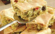 Λαχανόπιτα Spanakopita, Greek Recipes, Apple Pie, Bread, Chicken, Baking, Ethnic Recipes, Desserts, Food