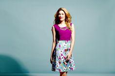 Floral Bird Skirt Dress £119