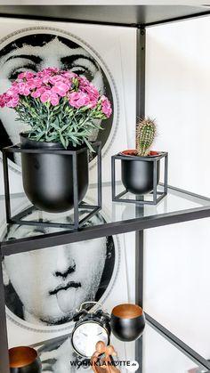 Wohnaccessoires, wie stylishe Blumentöpfe oder dekorative Vasen verleihen Deiner Einrichtung einen ganz persönlichen Stil. Wir zeigen Dir die schönsten Pflanzen-Accessoires und haben ein paar Ideen für Dich, wie Du damit Dein Zuhause gestalten kannst. Interior Design, Handmade, Furniture, Home Decor, Decorative Vases, Small Trees, Planting, Indoor House Plants, Couple