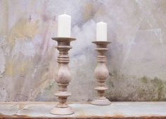 Chunky Wood Candle Stick - candles & home fragrance